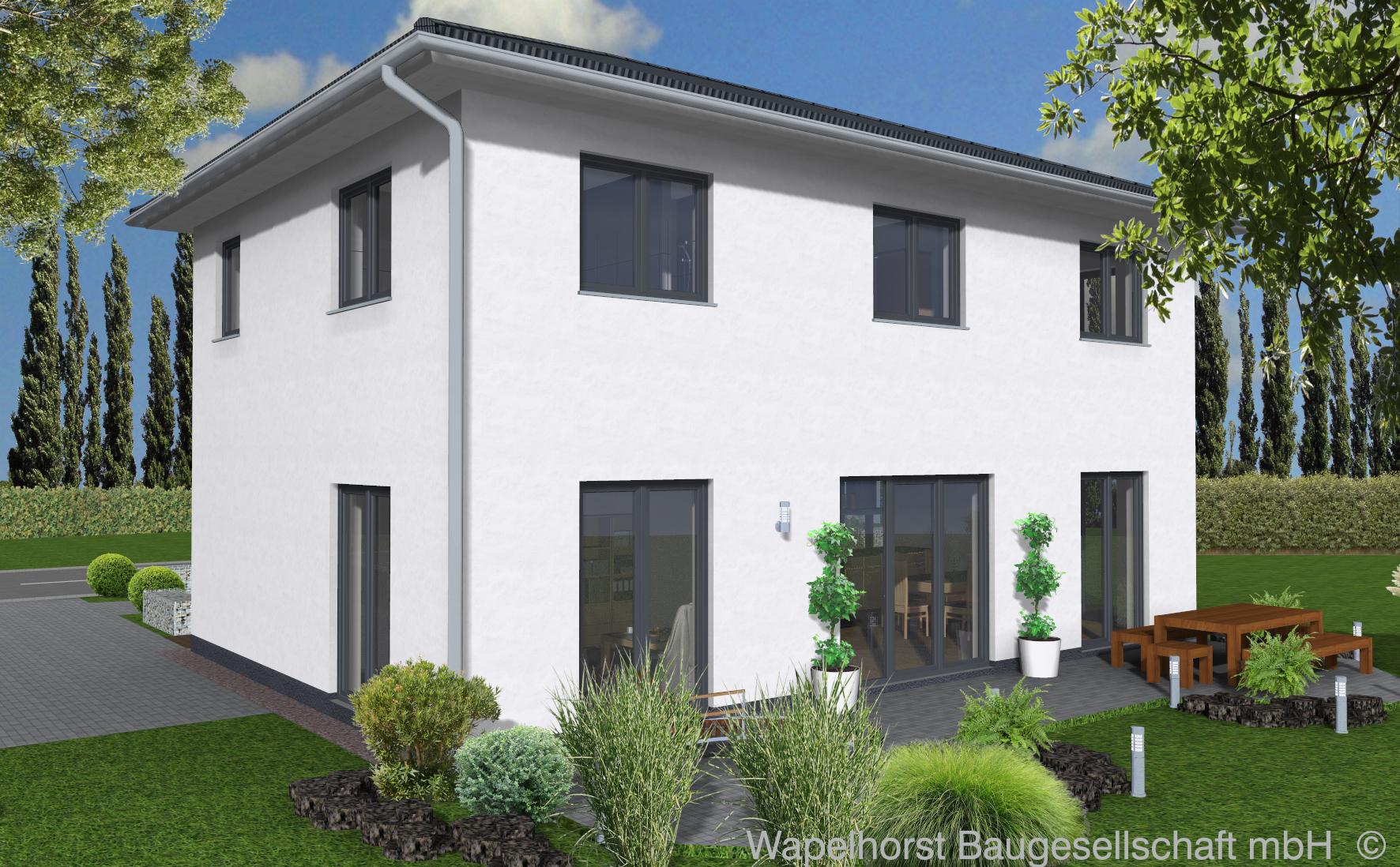 einfamilienhaus 1 200 wapelhorst planen und bauen. Black Bedroom Furniture Sets. Home Design Ideas