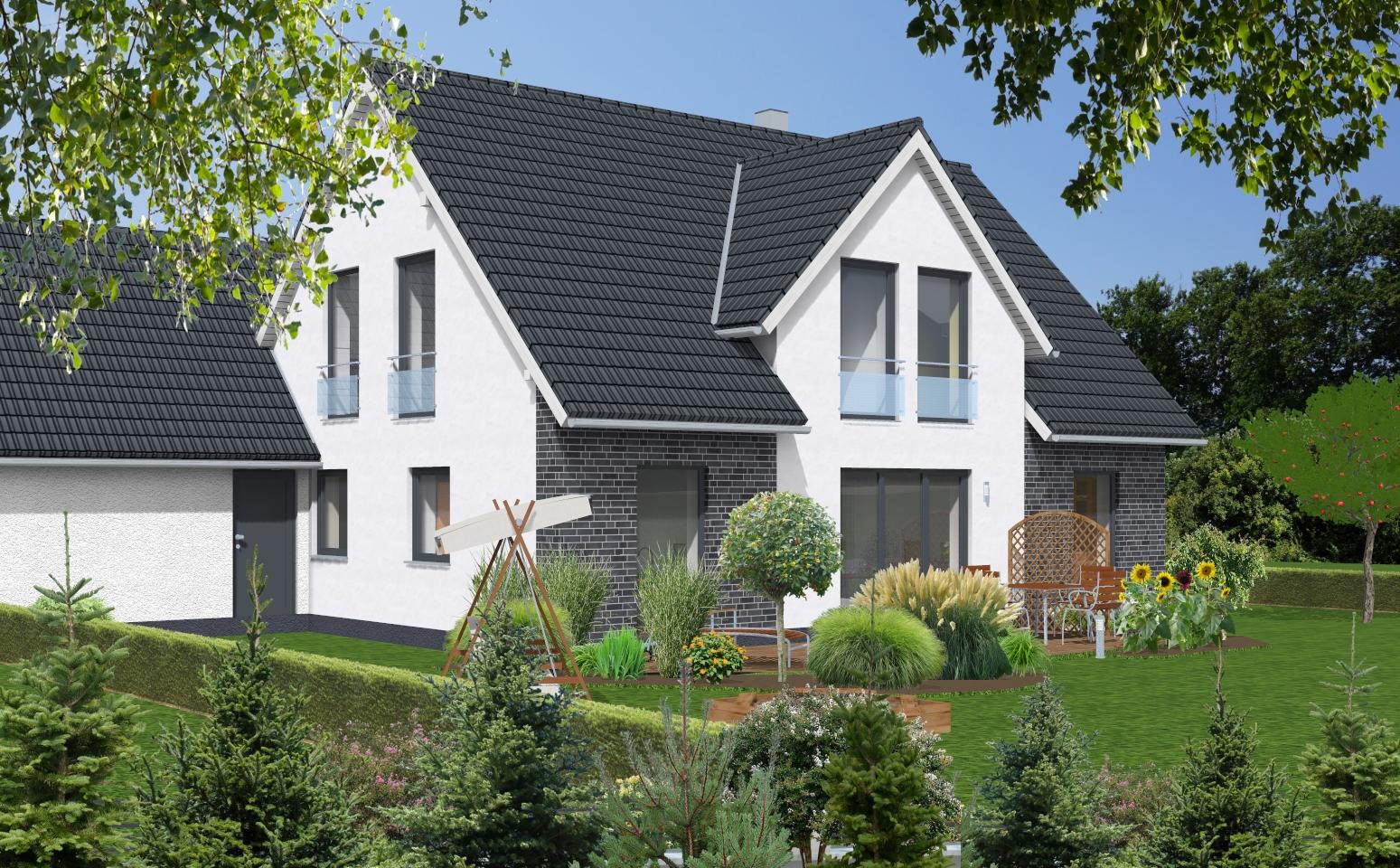 einfamilienhaus 1 160 wapelhorst planen und bauen. Black Bedroom Furniture Sets. Home Design Ideas
