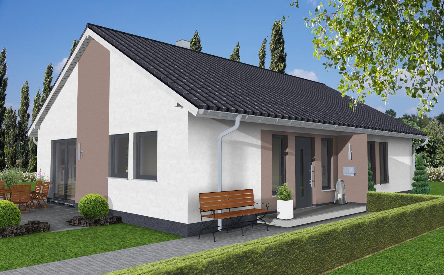 Bungalow 1 250 wapelhorst planen und bauen m hnesee for Bungalow planen