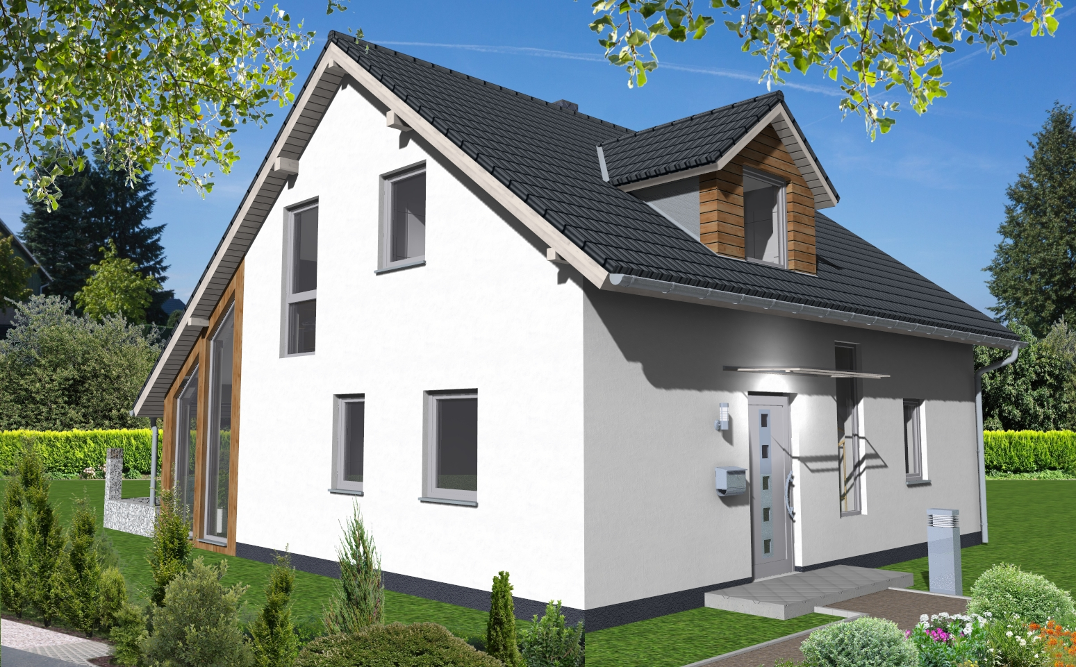 einfamilienhaus 1 080 wapelhorst planen und bauen. Black Bedroom Furniture Sets. Home Design Ideas